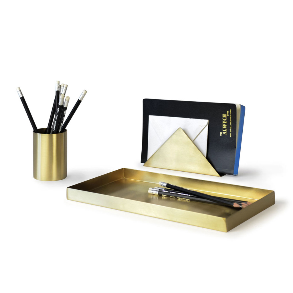 Brass-Desk-Set