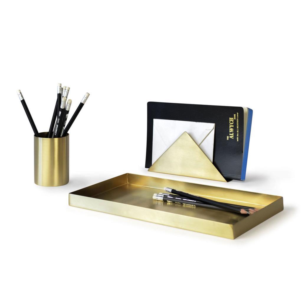 Brass-Desk-Set